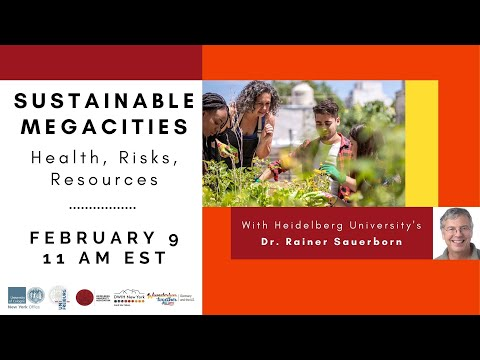 """Watch the presentation """"Bottom up meets top down: How urban citizens can reap health benefits from climate-friendly actions"""""""